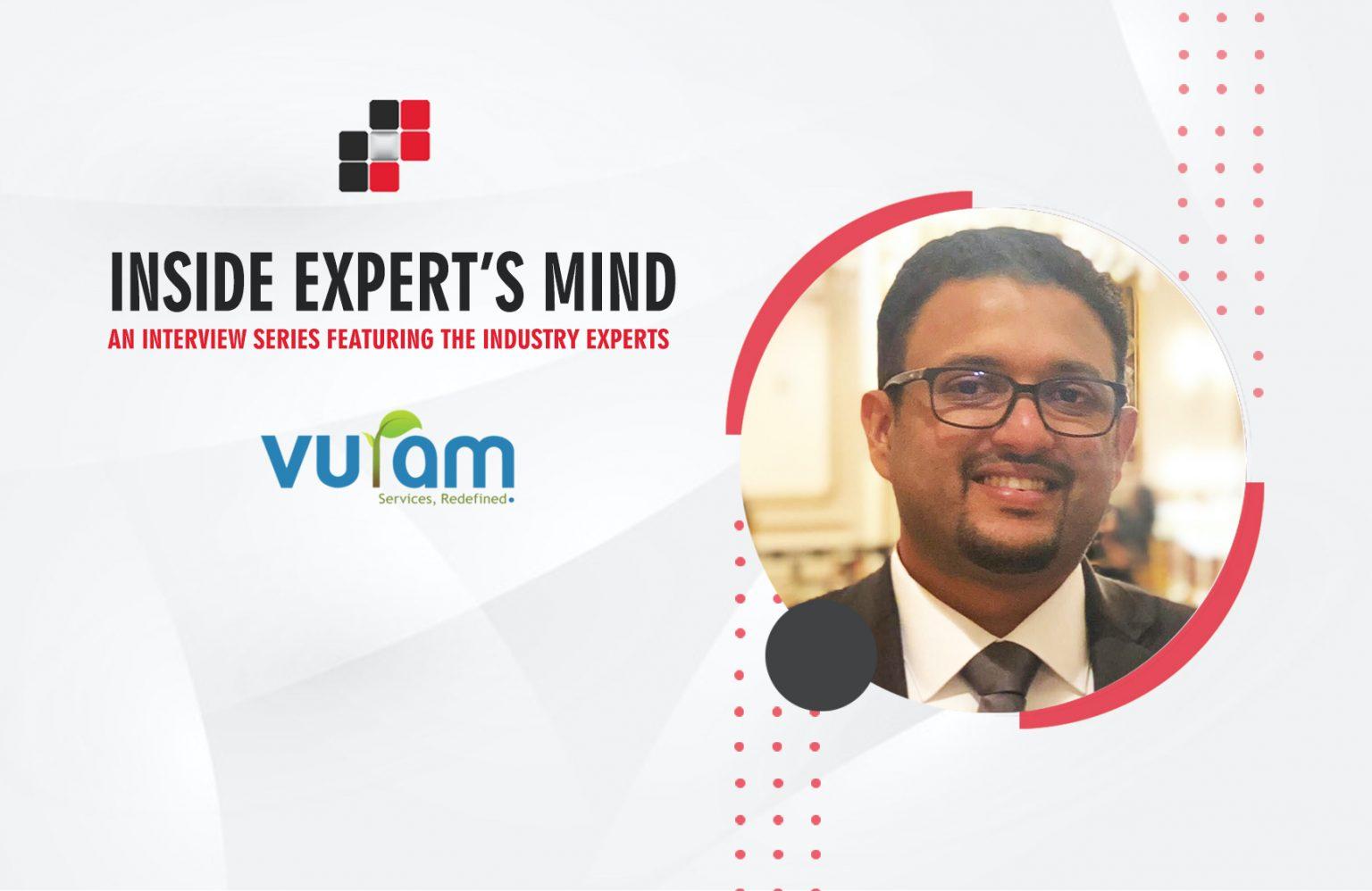 Arjun Devadas, Sr. VP, Professional Services & Operations (Americas) at Vuram